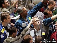 Oil traders in New York