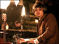 Pete Doherty pictured during the interview with Kirsty Wark