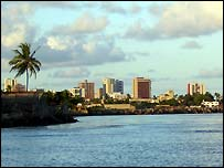 Brazilian city of recife