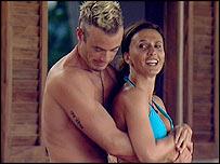 Fran Cosgrave and Jayne Middlemiss on Celebrity Love Island
