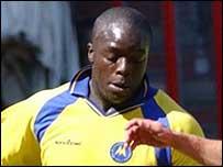 Torquay striker Adebayo Akinfenwa