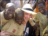 Fran Healy in Sudan