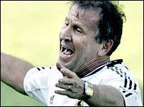 Brazil football legend Zico