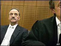 Wolfgang Daschner in court