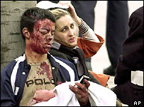 Injured survivors of the Madrid attacks