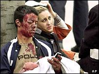 Injured survivors of the Madrid attacks