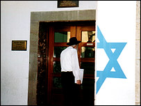 The Jewish agency in Jerusalem