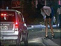 Prostitute, Italy