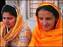 Mukhtar Mai with friend