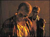 Zombies pose in a promotional picture for Dead Centre