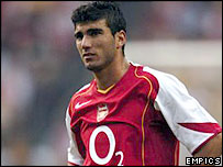 Arsenal's Jose Antonio Reyes