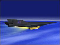 The X-43A, Nasa
