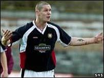 Dundee defender Lee Wilkie