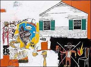 Andy Warhol and Jean-Michel Basquiat's House Eye