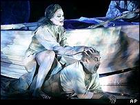 Scene from Wagner's Das Rheingold