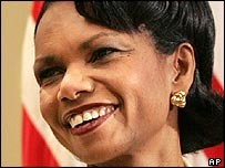 Incoming Secretary of State Condoleezza Rice