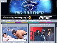 Big Brother Australia website