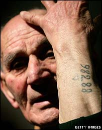Holocaust survivor Leon Greenman