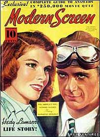 Image of Howard Hughes and Katharine Hepburn