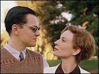 Леонардо ди Каприо и Кейт Бланчетт (кадр из фильма ''Авиатор'')