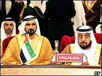 Leaders at the GCC summit