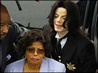 Catherine and Michael Jackson