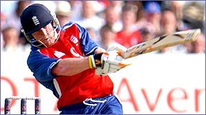 Paul Collingwood in action for England