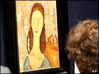 Amedeo Modigliani's Portrait de Jeanne Hebuterne