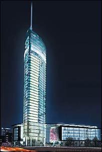 Tallest tower artist impression