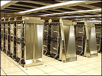 IBM BlueGene supercomputer
