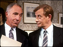 Sir Humphrey Appleby and Bernard Woolley, Yes Prime Minister