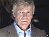 Max Mosley, president of the FIA