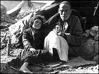 Refugiados palestinos tras el conflicto árabe-israelí de 1948 (Gentileza: UNRWA)