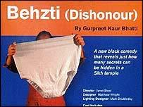 Behzti poster