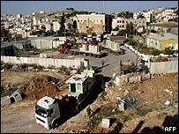 Ejército israelí en Ramala