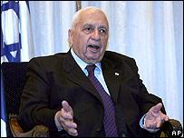 Ariel Sharon, primer ministro de Israel