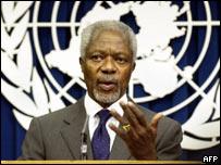 UN Secretary General Kofi Annan