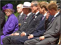Members of the Royal Family
