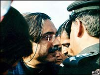 Zardari being arrested at Islamabad airport