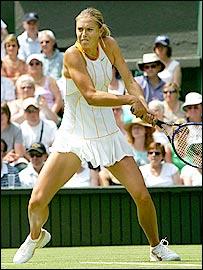 Wimbledon champion Maria Sharapova