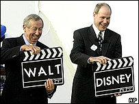 Roy Disney and Michael Eisner