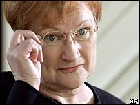President of Finland Tarja Halonen