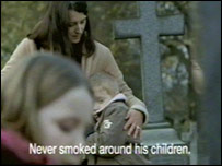 Image of smoking ad