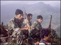 Maoists in western Nepal