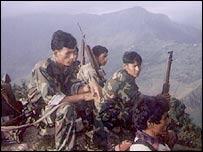 Maoists in western Nepal