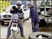 Maoist-led strike in Kathmandu