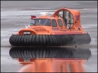 Rescue hovercraft: photo from BARB