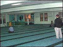 Mezquita del Centro Cultural Islámico de North Hudson, New Jersey.