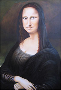 Roy Guy's interpretation of the Mona Lisa