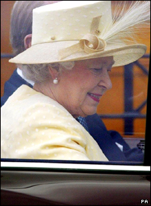 The Queen at St Andrews